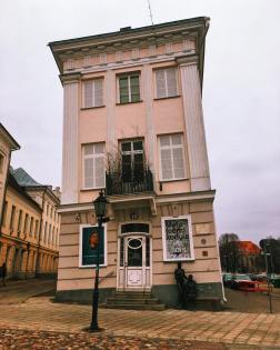 The Leaning Art Museum